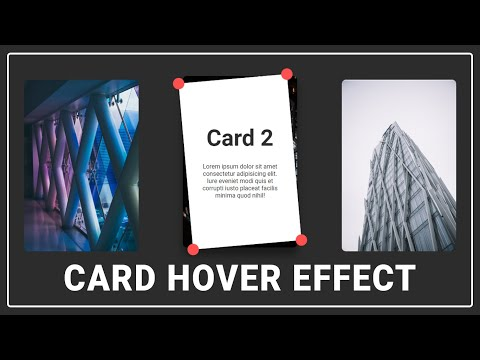 I bet this card hover effect will blow your mind