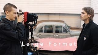 Large Format Portraits With Jack Harries