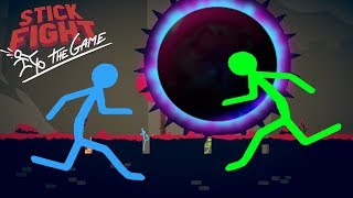 Black Hole Gun Only Challenge Ends In Disaster! - Stick Fight Multiplayer Gameplay