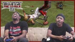 Dirty Hits & MAJOR CRAP TALK! Trent Challenges Dion In Blitz The League!