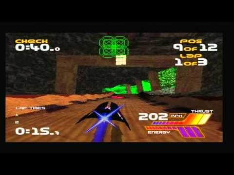 wipeout saturn vs playstation