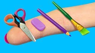 Как сделать аксессуары для кукол лол. с. воими руками