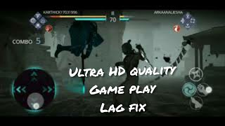 Shadow fight 3 | ultra HD quality graphics playing game lag fix
