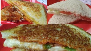 3 types of cheese sandwiches | cheese sandwiches | vegetable sandwiches
