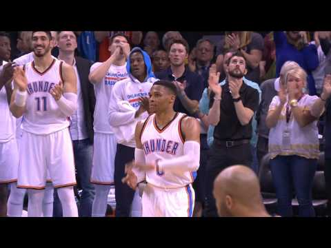 Russell Westbrook 41st Triple-Double Highlights   Ties Big O for Most In A Season   April 4, 2017