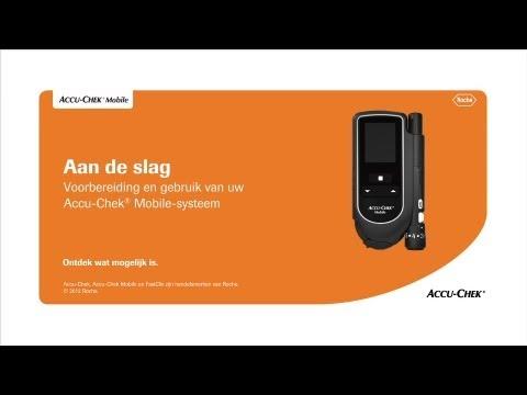 Stripvrij, simpel en slim bloedglucose meten: Accu-Chek® Mobile bloedglucosesysteem