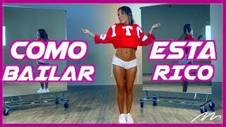 Aprende a Bailar ''Esta Rico'' - Marc Anthony, Will Smith, Bad Bunny | Magga Braco