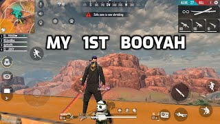 My 1st Booyha in Kahahari Map - Ranked Match - Desi Gamers