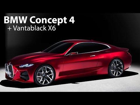 Erstkontakt: BMW Concept 4 und den ultra-schwarzen Vantablack X6 - Autophorie