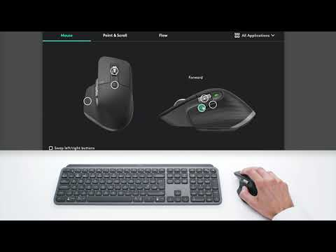 MX Master 3 - Advanced wireless mouse - Tutorial on app specific settings