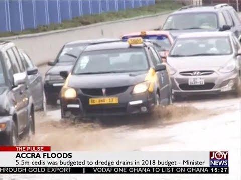 Accra Floods - The Pulse on JoyNews (27-6-18)