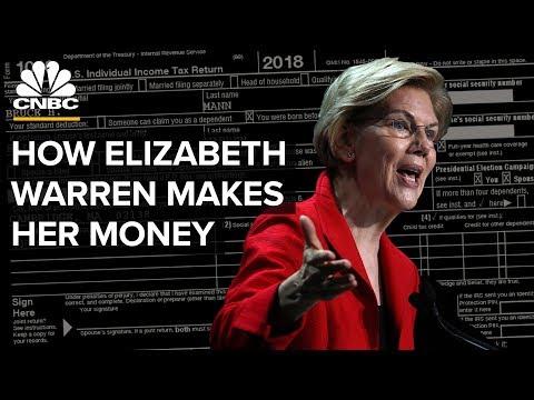 How Elizabeth Warren Makes Money