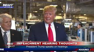 IT'S OVER: President Trump DECLARES Impeachment Is Over & Republicans Won