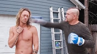 Slow Mo Punch from Chuck Liddell!