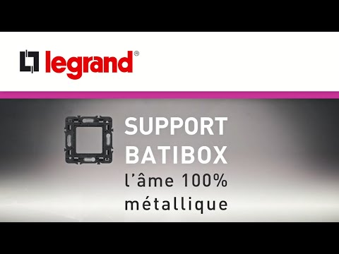 SUPPORT BATIBOX : l'âme 100% métallique