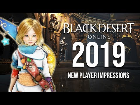 Black Desert Online in 2019 : New Player Impressions