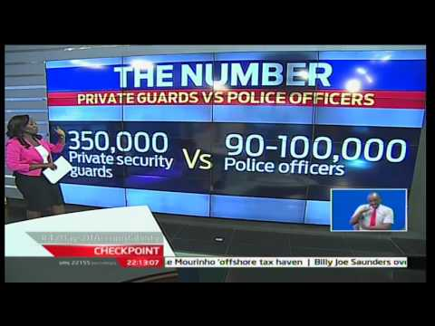 CheckPoint: The Number; Private guards Vs Police officers 4/12/2016