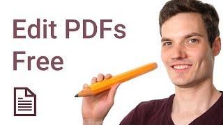 How to Edit PDF Free