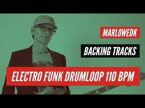 Electro funk drumloop 110 bpm