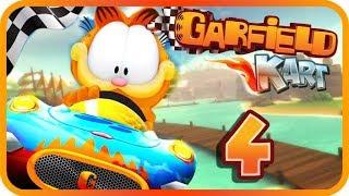 Garfield Kart Gameplay Part 4 (PC) Ice Cream Cup + Ending Credits