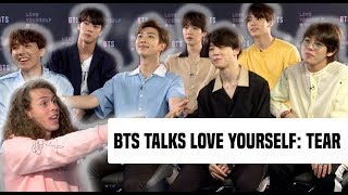 BTS Gets Real About Their New Album, 'Love Yourself: Tear'