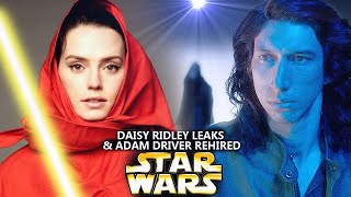 Daisy Ridley Just Leaked This For Star Wars! & Adam Driver Is Rehired! (Star Wars Explained)