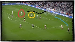 Analysing the goals   Newcastle United 1-2 Arsenal