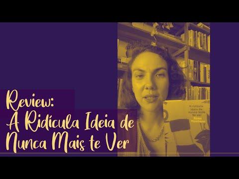 Resenha: A Ridícula Ideia de Nunca Mais te Ver, de Rosa Montero