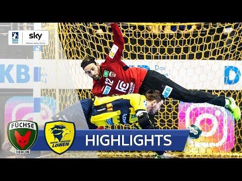 Füchse Berlin - Rhein-Neckar Löwen   Highlights - DKB Handball Bundesliga 2018/19