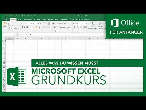 Microsoft Excel (Grundkurs) Für Anfänger | Microsoft Office Tutorial Serie