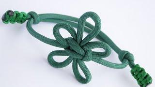 """How to Make a Fleur-De-Lis Paracord/Macrame Friendship Bracelet- Knot by """"TIAT"""""""