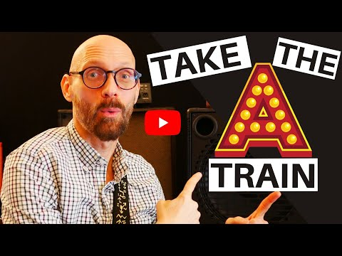 Check out this lesson on The A-Train and take your playing to the next level.