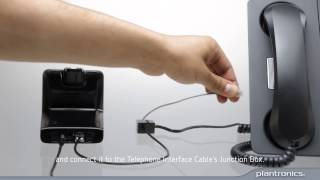 How to Connect the CS500 to your Deskphone