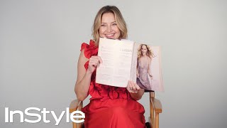 Kate Hudson Looks Back At Her Past InStyle Covers | 25th Anniversary | InStyle