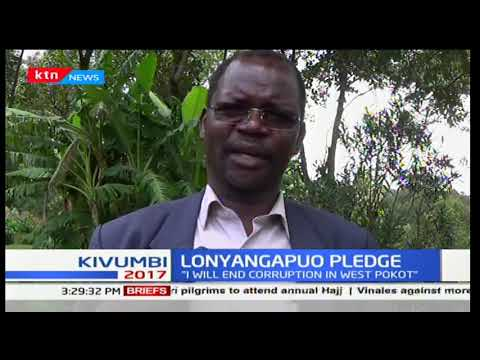 Lonyangapuo promises to end corruption in West Pokot
