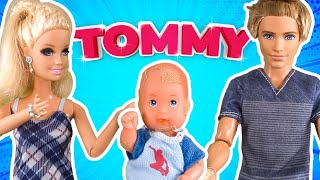 Barbie - Tommy's Walking!   Ep.170