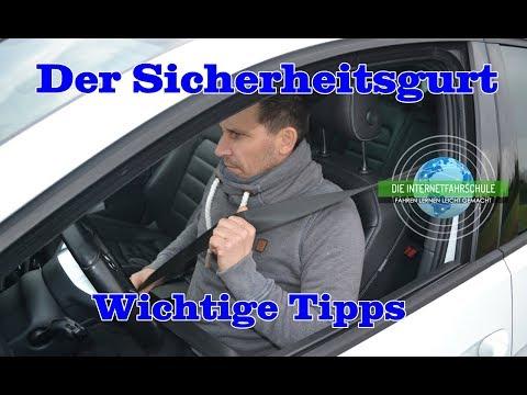 Der Sicherheitsgurt / Anschnallen Tipps & Tricks (Erste Fahrstunde)