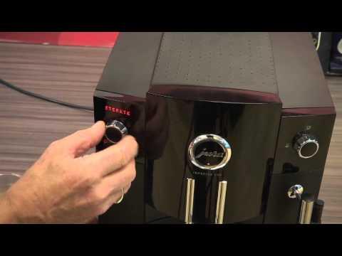 Jura Impressa C50 koffieapparaat productvideo, uitleg koffiediscounter.nl 2013