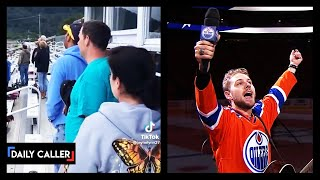 Viral Tiktok Shows Dad Stepping Up To Sing Anthem Before Sporting Event