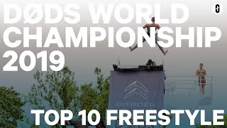 Top 10 freestyle døds from the Døds World Championship 2019 semi final (english commentators)