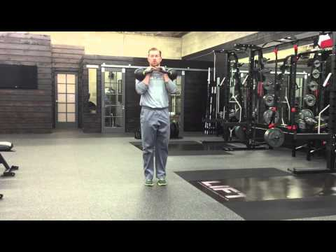 Kettlebell Front Rack Marches