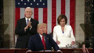 Pelosi repi Trumpin puheen