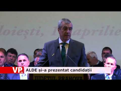 ALDE și-a prezentat candidații