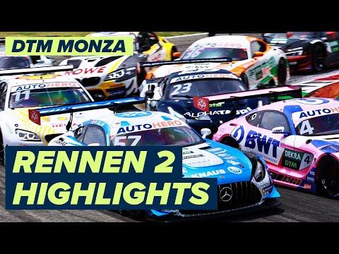 DTM モンツァ(イタリア) RENNEN2のハイライト動画