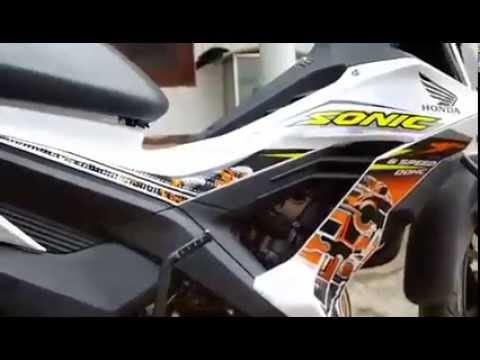 Honda Sonic 150 R Knalpot CLD Monster Video Om Jacklien