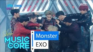 [Comeback Stage] EXO - Monster, 엑소 - 몬스터 Show Music Core 20160611