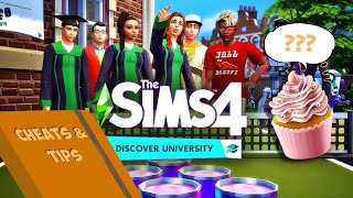University Life Cheats And Tips | The Sims 4