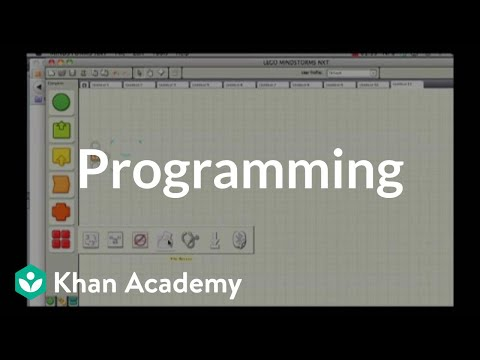 Introduction to programming using lego NXT (video) | Khan