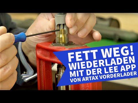 artax: Wiederladen mit Lee APP:Einstationen-Presse mit Zusatzfunktionen von ARTAX Vorderlader – mit Video zum Hülsenentfetten