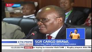 Mount Kenya and Coast region  lawmakers  clashed over SGR cargo order